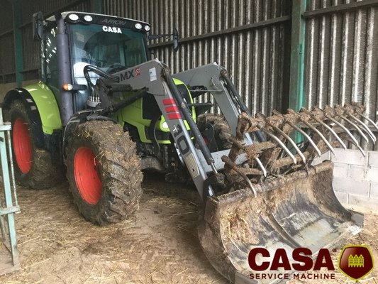Tracteur agricole Claas Arion 510 cis chargeur