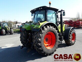 Tracteur agricole Claas Arion 640 cmatic  - 2