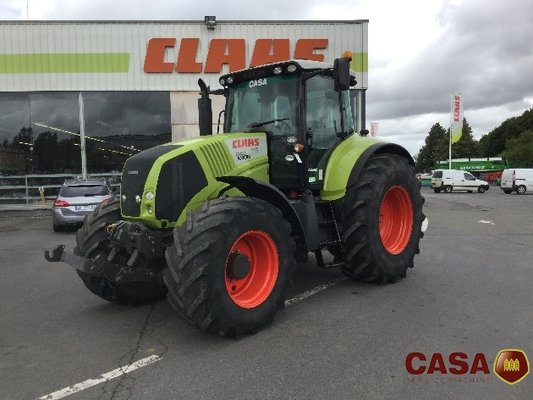 Tracteur agricole Claas Axion 840