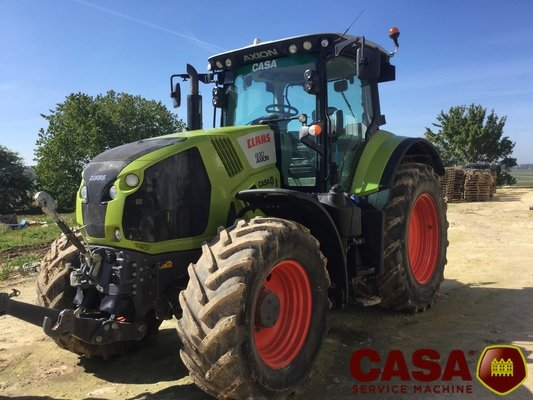 Tracteur agricole Claas Axion 830 cis