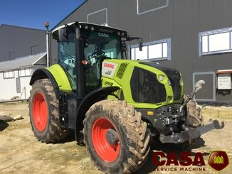 Tracteur agricole Claas Axion 830 cis  - 1