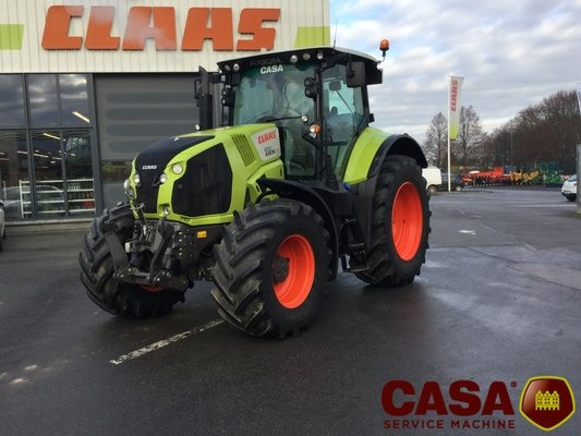 Tracteur agricole Claas Axion 800